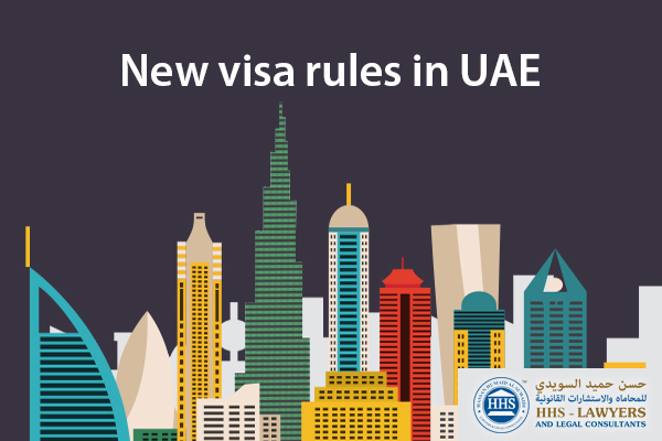 New visa rules in UAE