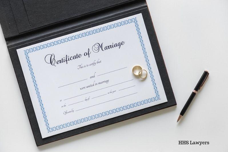Marriage certificate attestation in Dubai