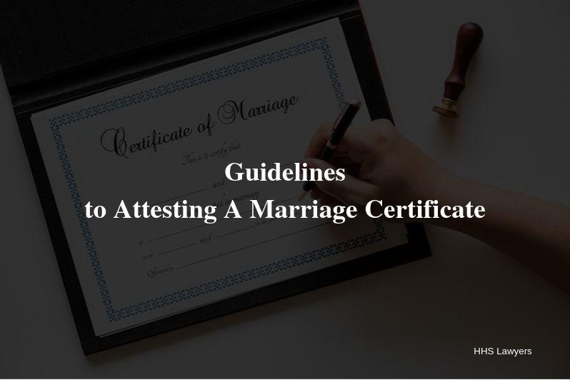 marriage attestation services in Dubai