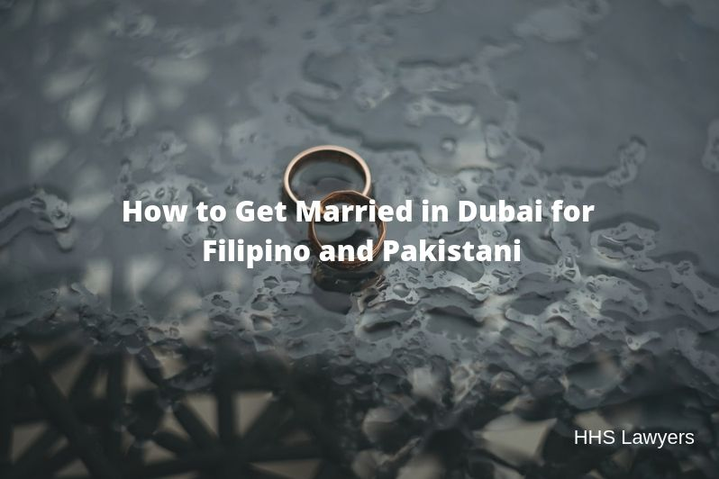 Get Married in Dubai for Filipino and Pakistani