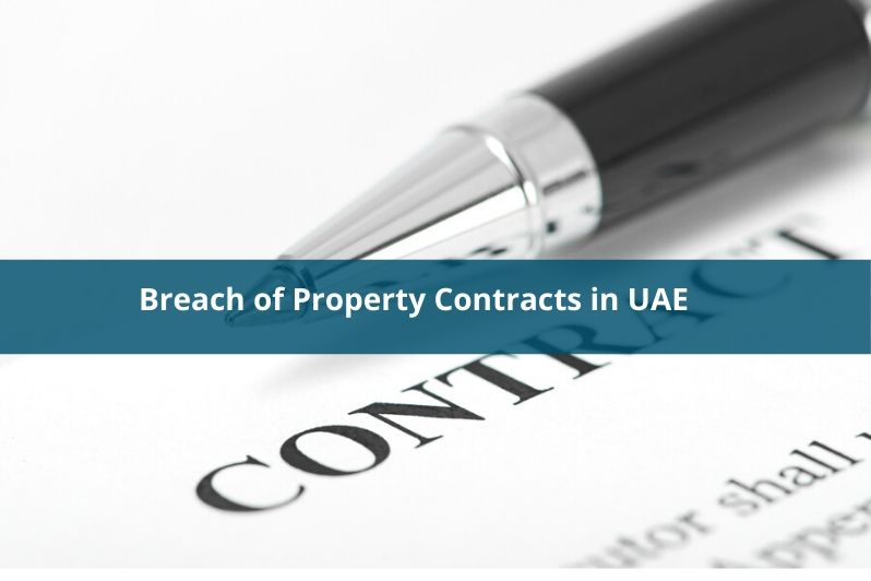 Breach of property contracts