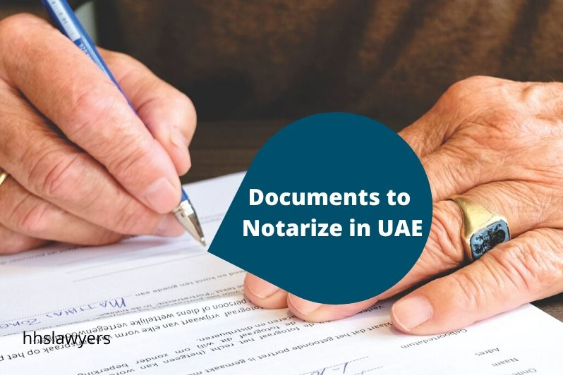Documents to Notarize in UAE
