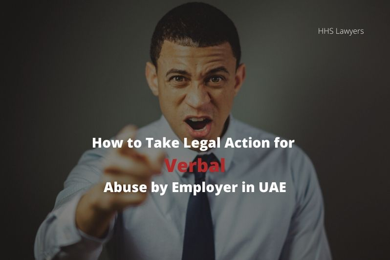 egal Action for Verbal Abuse by Employer