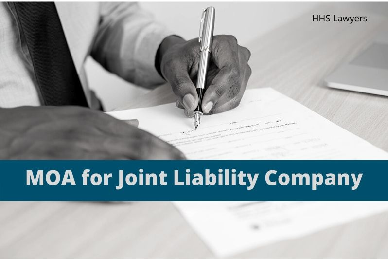 MOA For Joint Liability Company