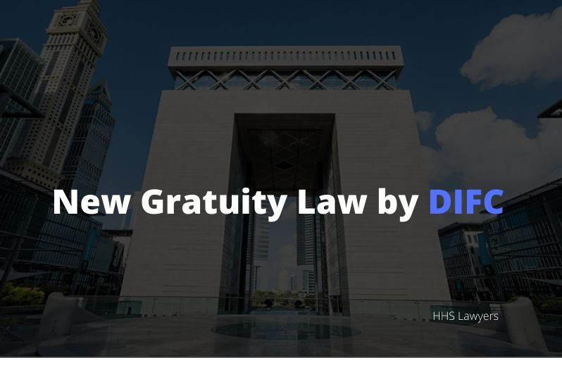 Gratuity law by DIFC
