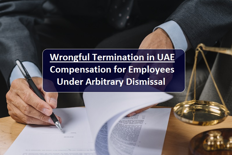 Wrongfully terminated employee can claim as compensation