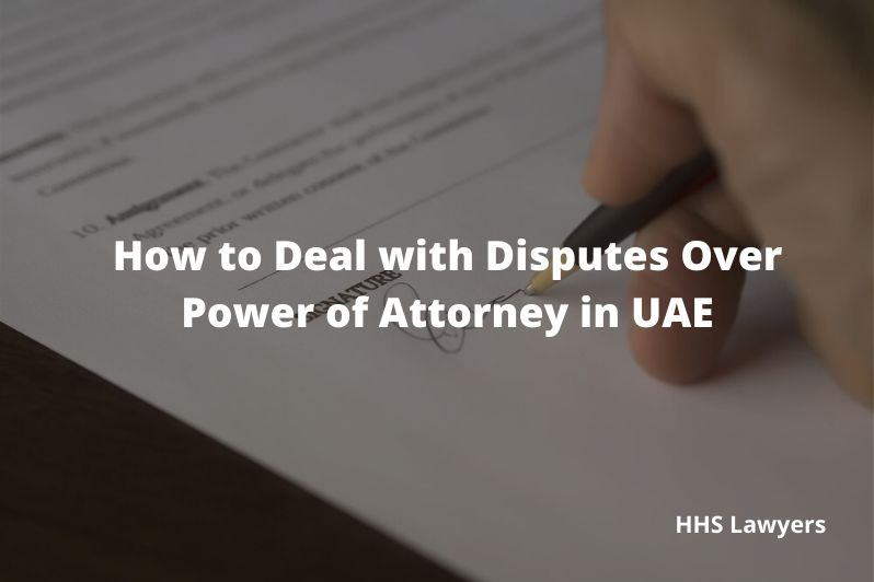 Power of Attorney in UAE