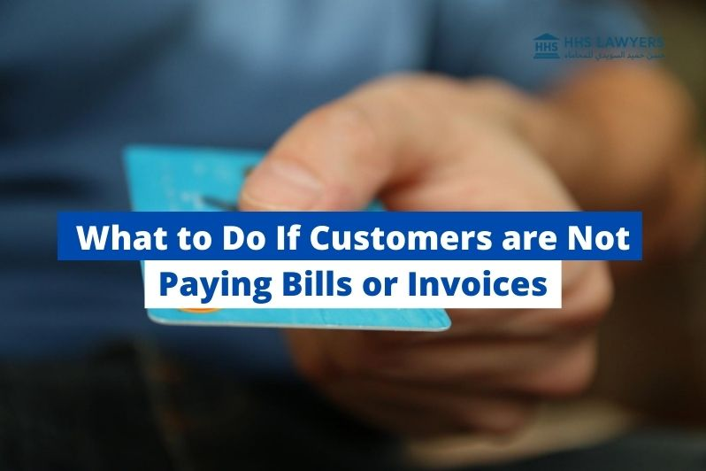 Customers are Not Paying Bills or Invoices
