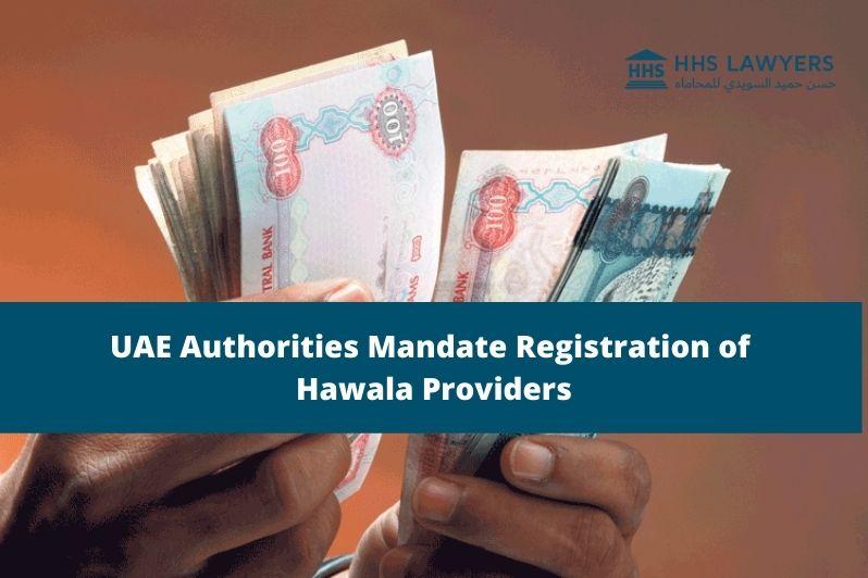 Registration of Hawala Providers