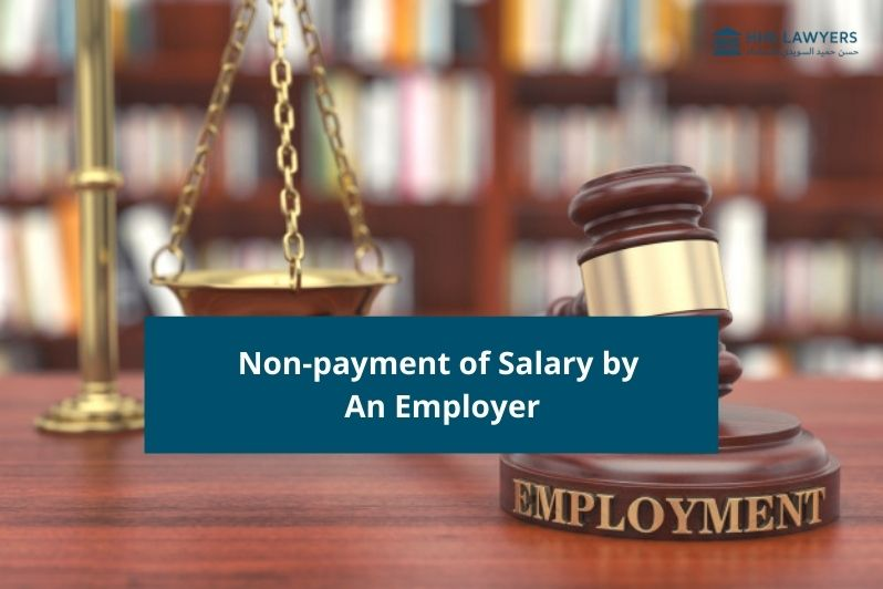 non payment of salary by employer