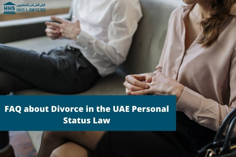Divorce in the UAE Personal Status Law