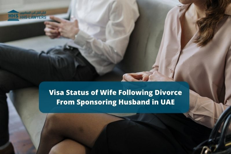 Visa Status of Wife after divorce