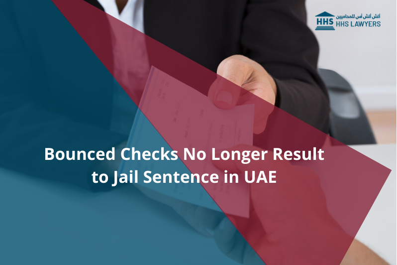 Bounced Checks No Longer Result to Jail Sentence
