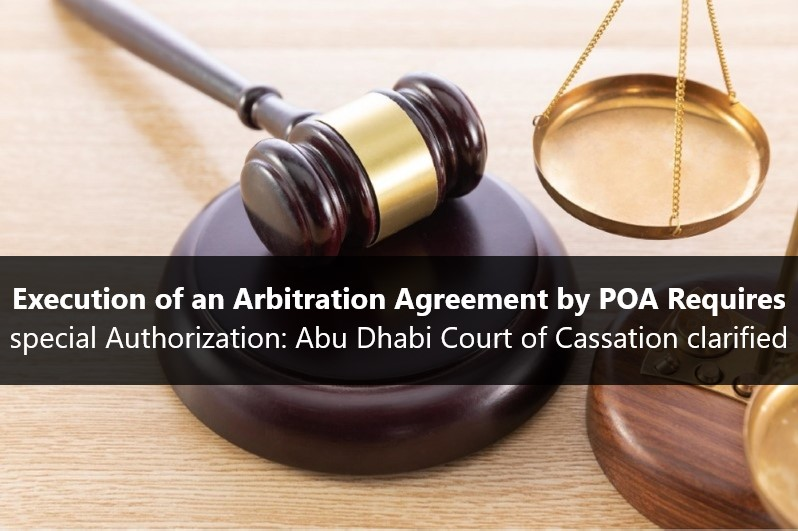 Execution of an Arbitration Agreement by Power of Attorney